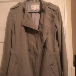 Twill blazer jacket